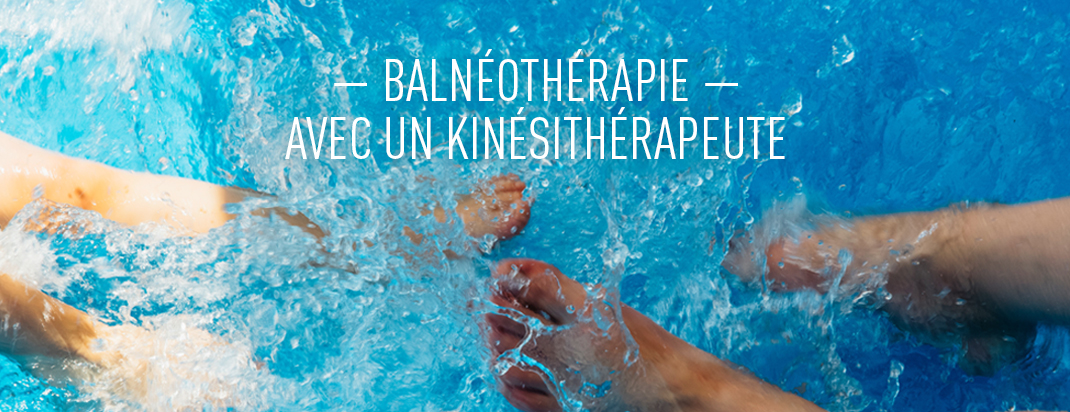balnéothérapie kinésithérapie